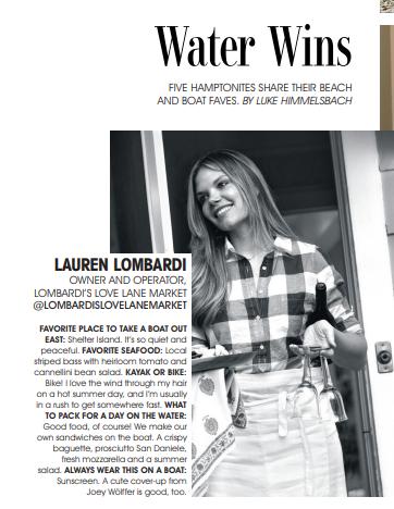 Hamptons Magazine August 2018